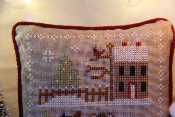cross stitch Farmhouse Christmas de melkstal