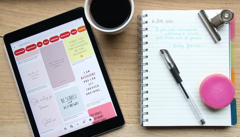 Schrijven in een dagboek: schrijf jezelf tot rust