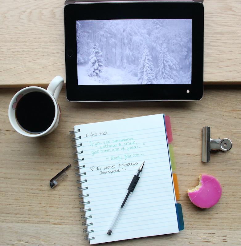 Schrijven in een dagboek: instrumentale muziek