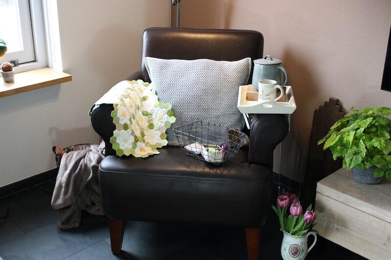 Een heerlijke plek om van slow living echt te genieten, dat is deze fijne stoel.