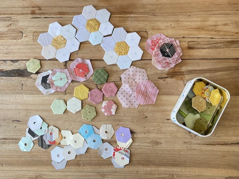 Van lapje naar patchwork bloem