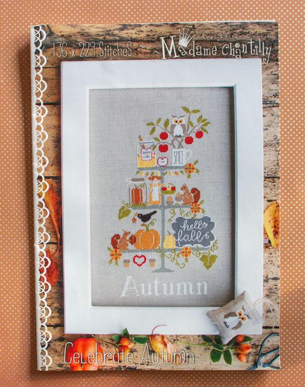Mme Chantilly: Celebrate Autumn borduurpatroon