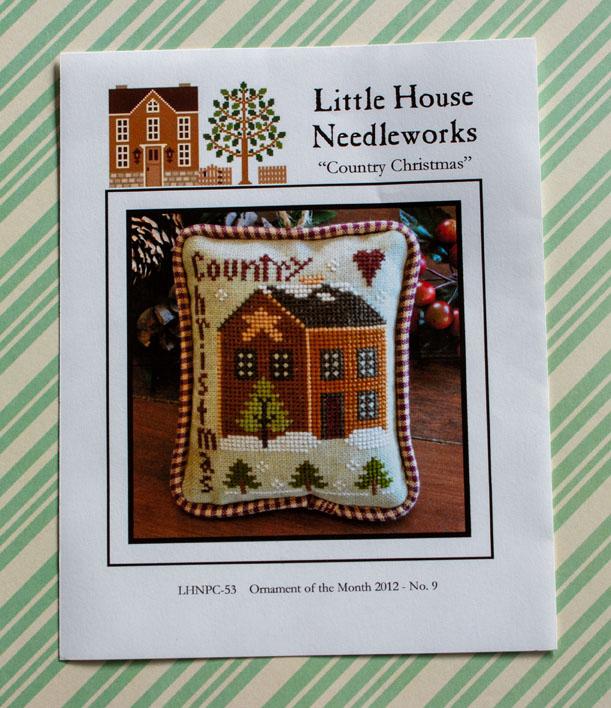 Little House Needleworks: Country Christmas borduurpatroon