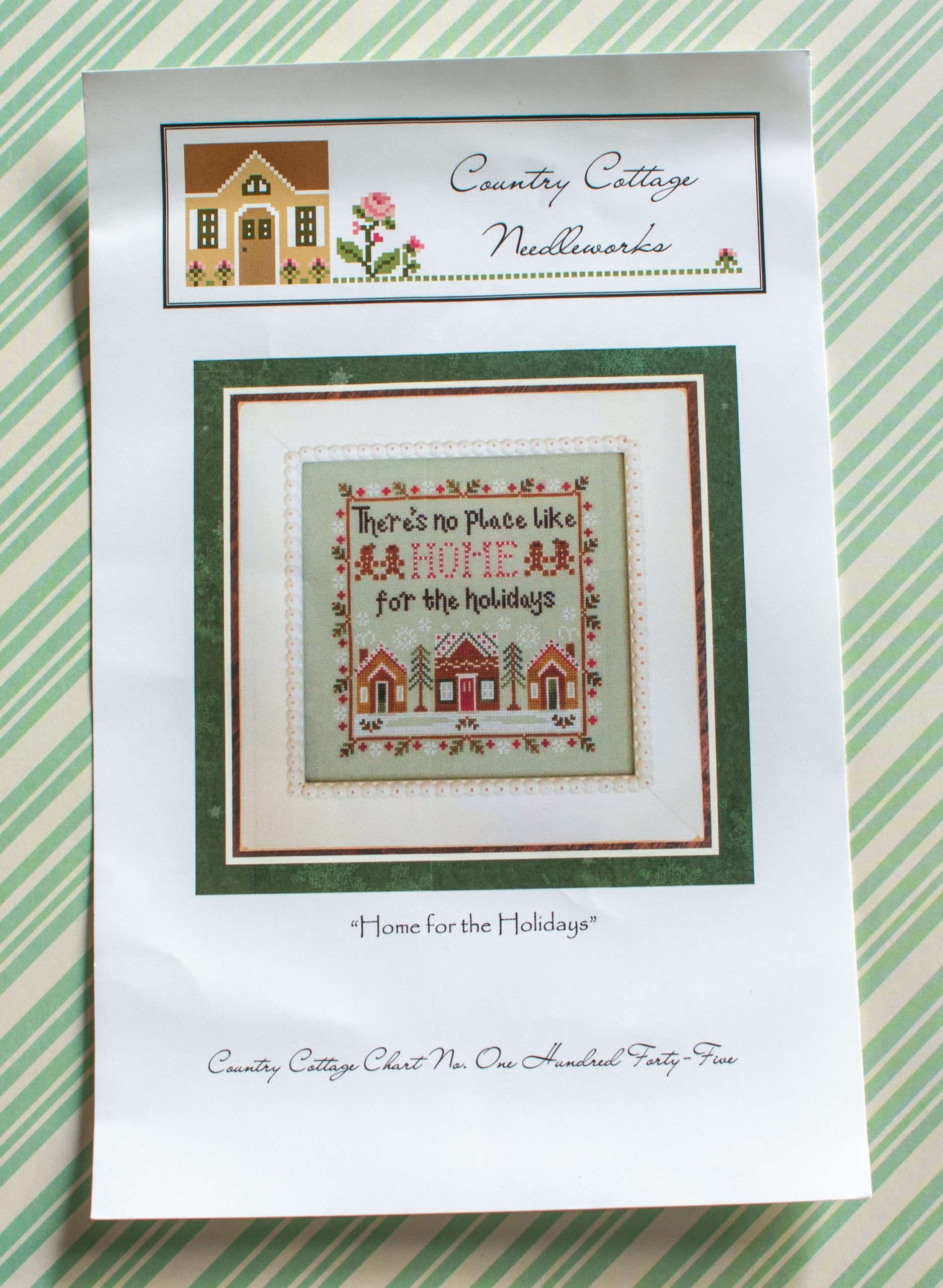 Country Cottage Needleworks: Home for the Holidays borduurpatroon