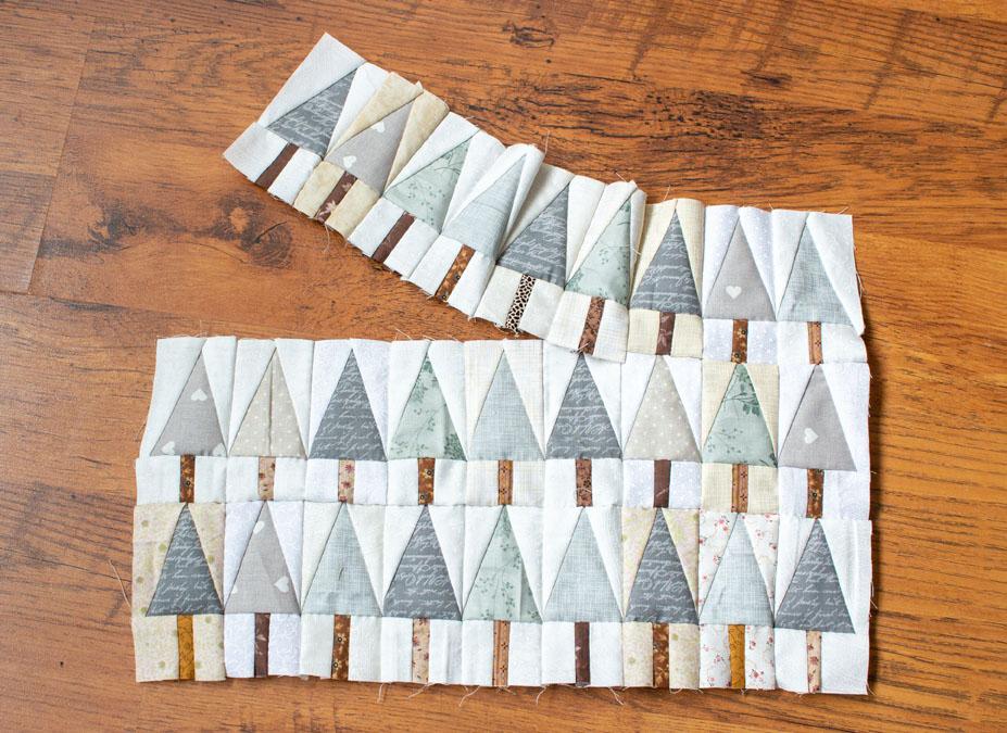 Little Trees Patchwork van Anna Jantina