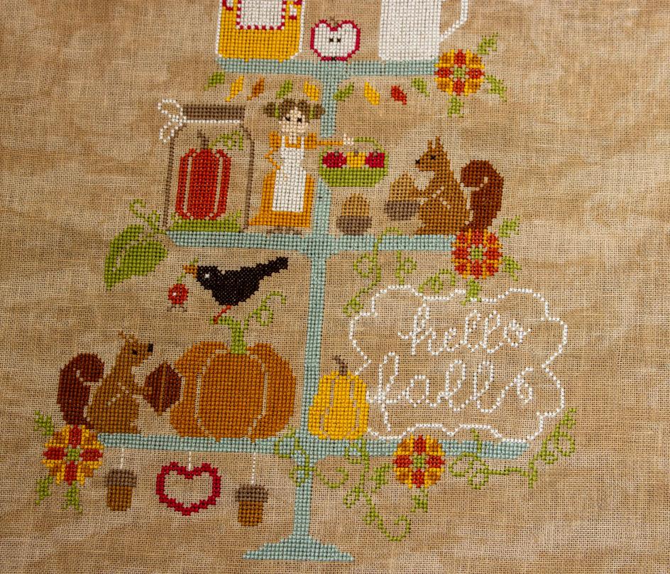 Handwerkproject: Celebrate Autumn is herfst op een etagère