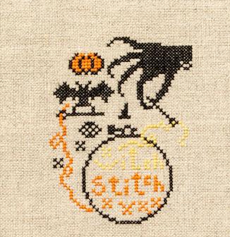 Handwerkproject: Spooky Stitching