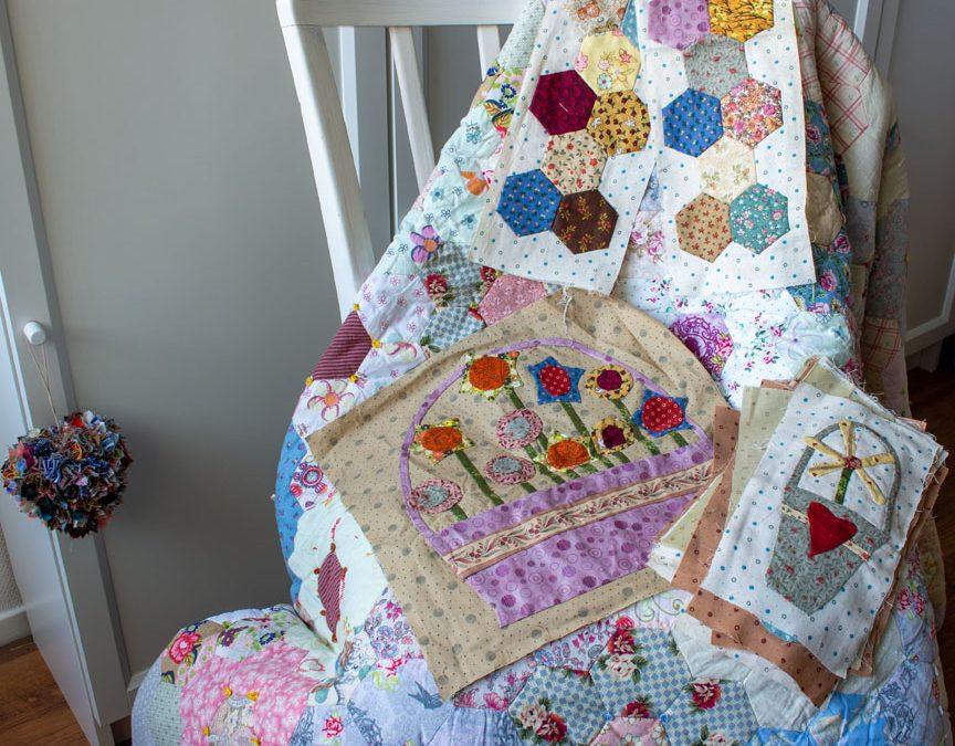 In Memoriam: ons mam en haar patchwork vol herinneringen